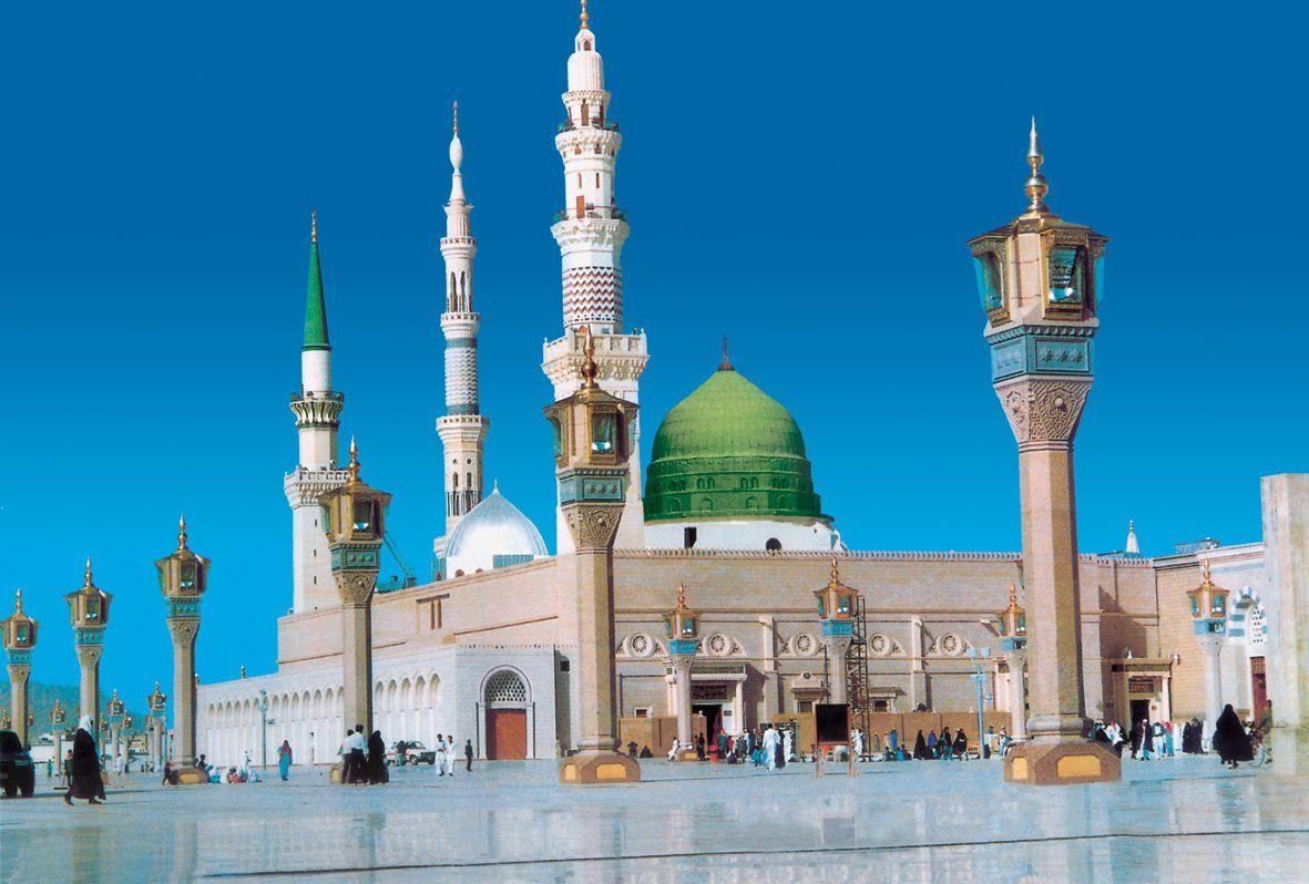 زیارت مسجد النبی مدینه بصورت تصویری